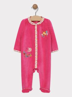 Pink Romper SEANABELLE / 19H5BF54GRED325