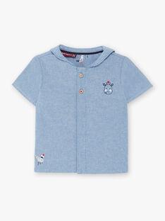 Camisa em ganga bebé menino ZAORSON / 21E1BGT1CHMP265