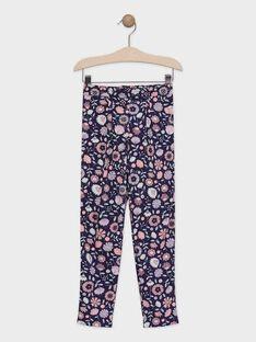 Calças estampado floral menina TAEFIETTE 1 / 20E2PFM3PAN711