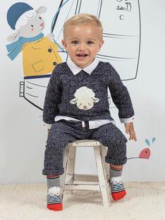 Conjunto azul mesclado com padrão ovelha bebé menino BANICK / 21H1BGL1ENSC223