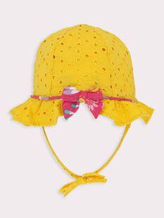 Chapéu amarelo bebé menina TAINES / 20E4BFG1CHA010