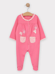 Babygro rosa bebé menina TESOLINE / 20E5BF77GRED325