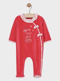 Babygro rosa menina SEBELLE / 19H5BFK1GRED320