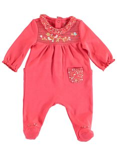 Babygro bebé menina TESANDY / 20E5BF73GRE419