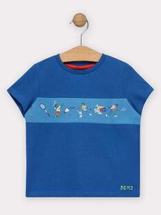 T-shirt de mangas curtas azul menino TERFIAGE / 20E3PGH2TMC216