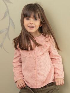 Camisa rosa criança menina ZACHETTE / 21E2PF71CHED327