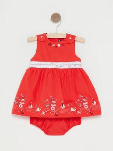 Vestido vermelho bebé menina TATAMARA / 20E1BFW1CHSF503