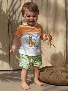 T-shirt bebé menino bicolor TAWAPI / 20E1BGX1TMC001
