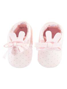 Pantufas rosa pálido bebé menina TYFOLI / 20E0AFF1CHP301