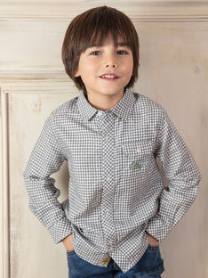 Camisa criança menino ZAZAGE / 21E3PG91CHM001