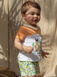 Calções bebé menino estampado tropical TAWES / 20E1BGX1SHO001